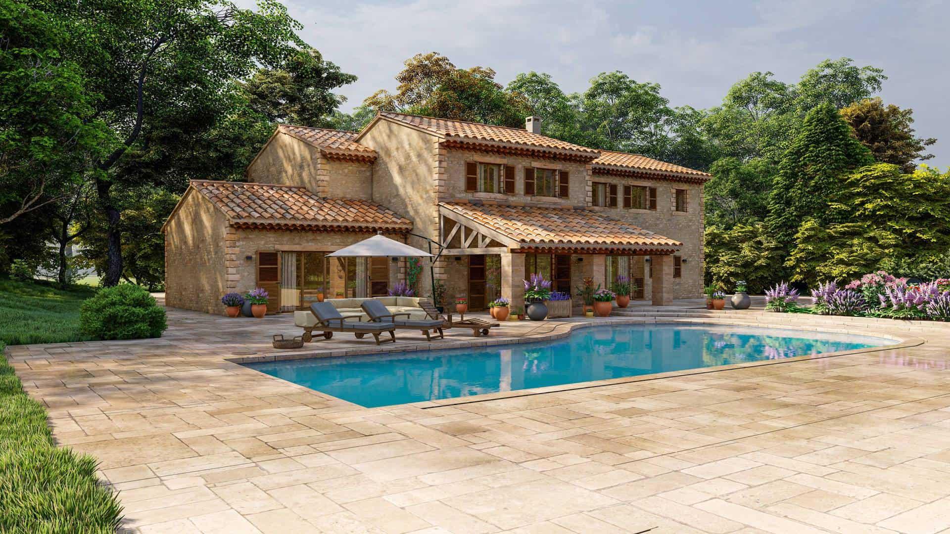 maison traditionnelle style